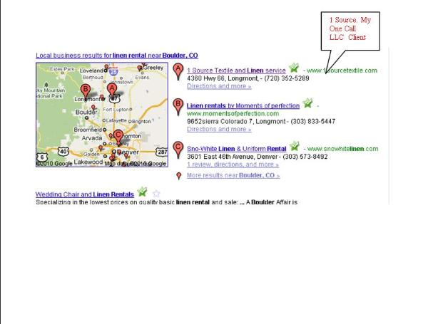 SEO in Denver Client